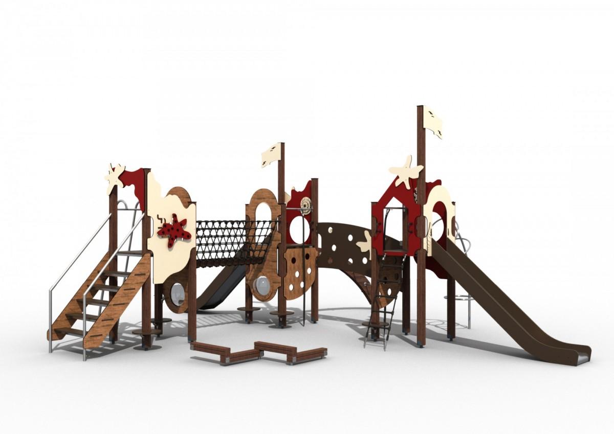 Игровой комплекс серия Пираты 104460