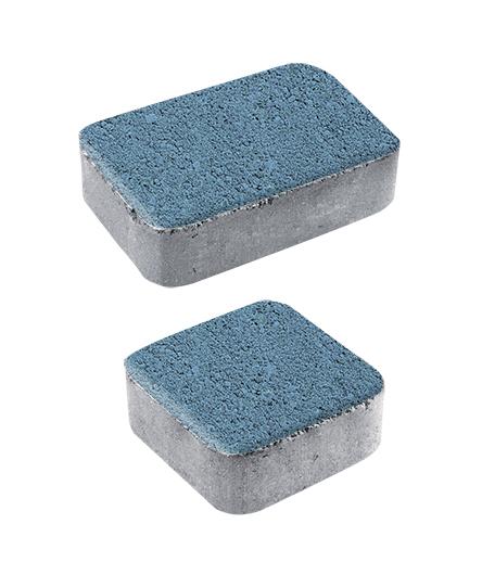 Тротуарная плитка Классико А1 Гранит, синий, 40 мм