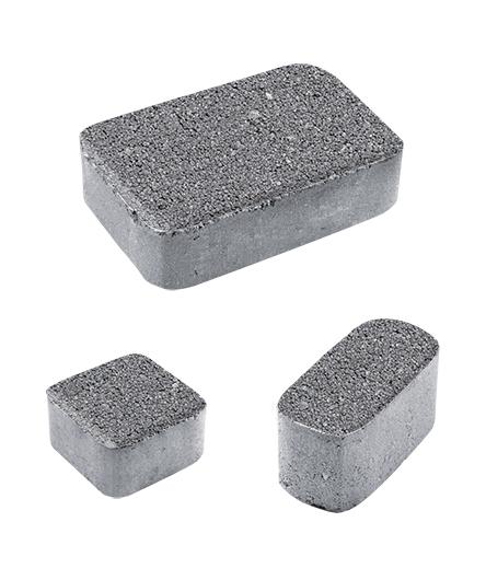 Тротуарная плитка Классико Б1 Гранит, серый, 60 мм