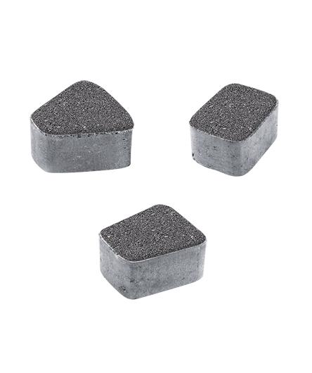 Тротуарная плитка Классико Б2 Гранит, серый, 60 мм