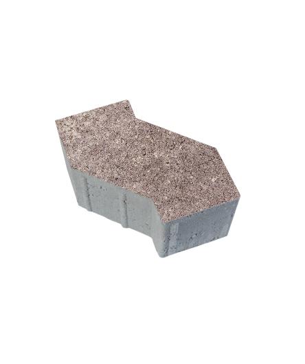 Тротуарная плитка S-Форма Искусственный камень Плитняк, 100 мм