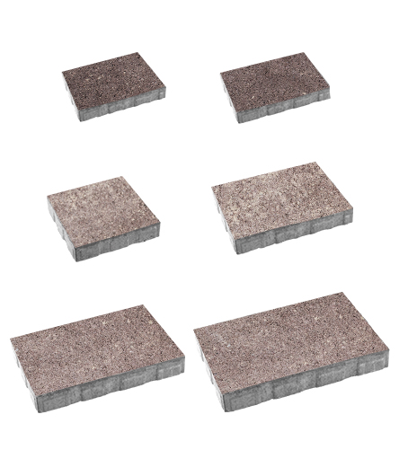 Тротуарная плитка Антара Искусственный камень Плитняк, 60 мм