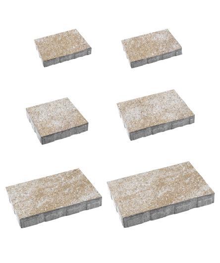 Тротуарная плитка Антара Искусственный камень Степняк, 60 мм
