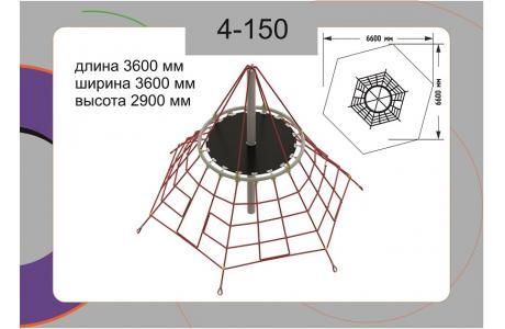 Канатная конструкция 4-150