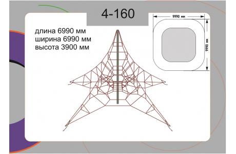 Канатная конструкция 4-160