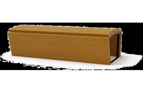 Скамья деревянная S-025