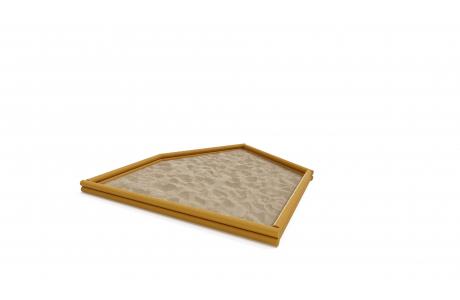 Песочница  деревянная Р-004