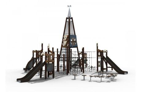 Игровой комплекс серия Вестерн  101051