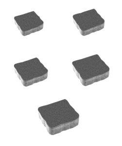 Тротуарная плитка Антик Стандарт, серый, 60 мм