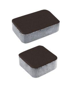 Тротуарная плитка Классико А1 Стандарт, коричневый, 40 мм
