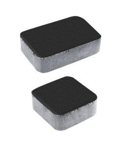 Тротуарная плитка Классико А1 Стандарт, черный, 40 мм