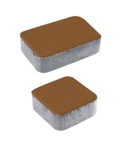 Тротуарная плитка Классико А1 Стандарт, оранжевый, 40 мм