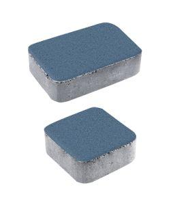 Тротуарная плитка Классико А1 Стандарт, синий, 40 мм