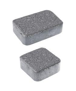 Тротуарная плитка Классико А1 Гранит, серый, 40 мм