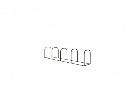 Велопарковка на 5 дуг V-005-5